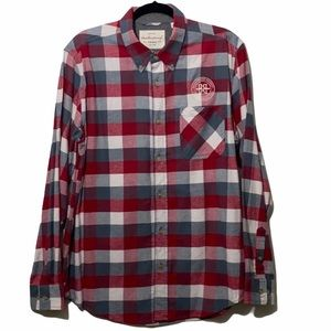 Weatherproof Men's buttondown plaid flannel shirtL